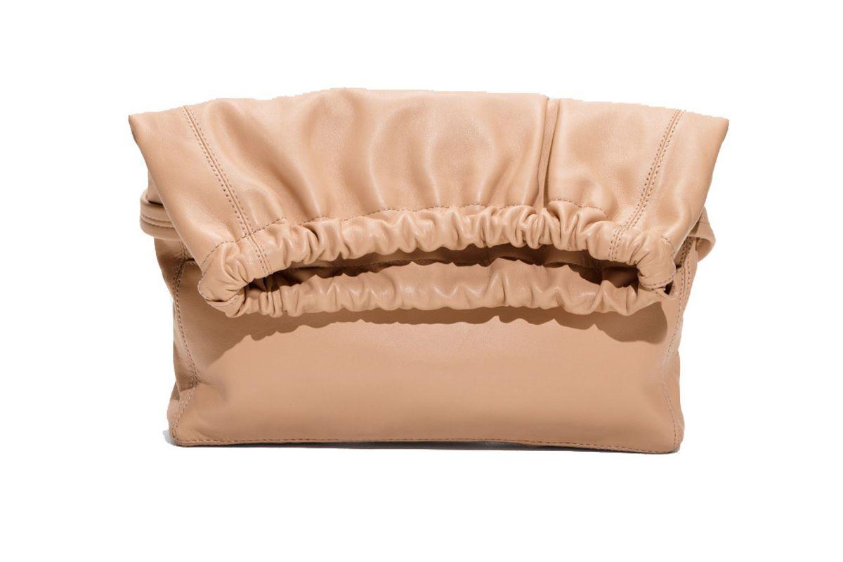 Drawstring Flap Bag