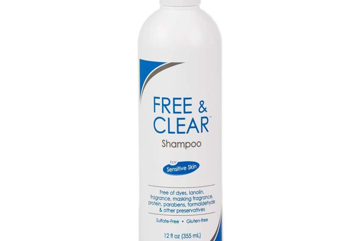 pharmaceutical specialties free and clear shampoo fragrance gluten and sulfate free for sensitive skin