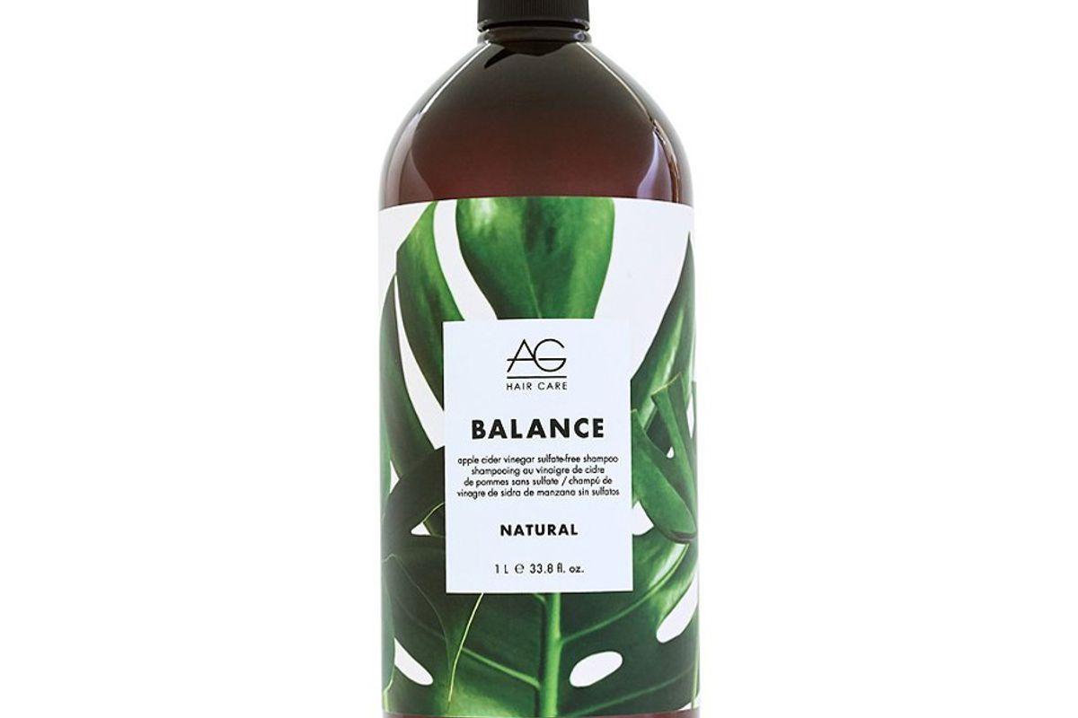 ag hair natural balance apple cider vinegar sulfate free shampoo