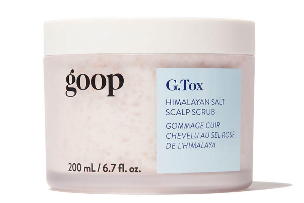 goop g tox himalayan salt scalp scrub shampoo