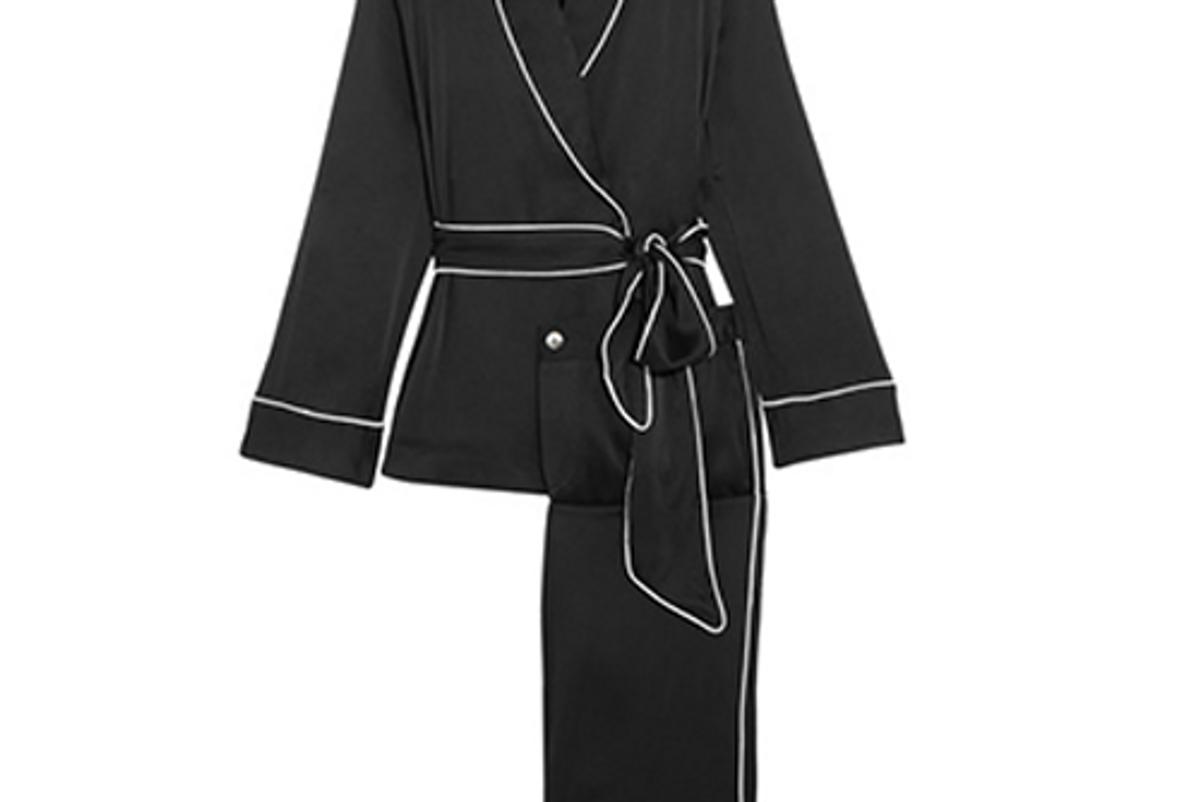 Odette Washed-SIlk Pajama Set