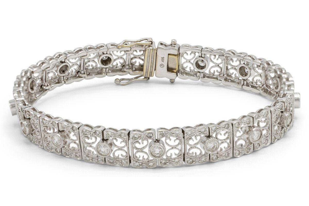 bygoldgirl lace diamond bracelet