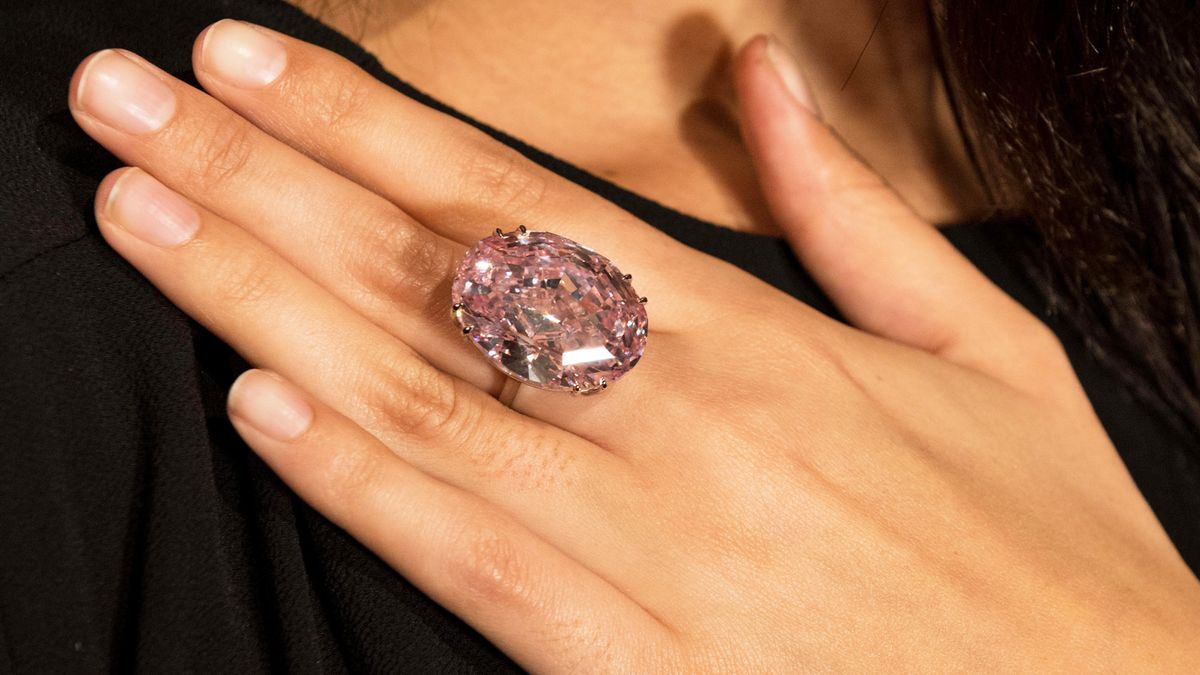 """This Rare 59.60 Carat """"Pink Star"""" Diamond Sold for How Much?"""