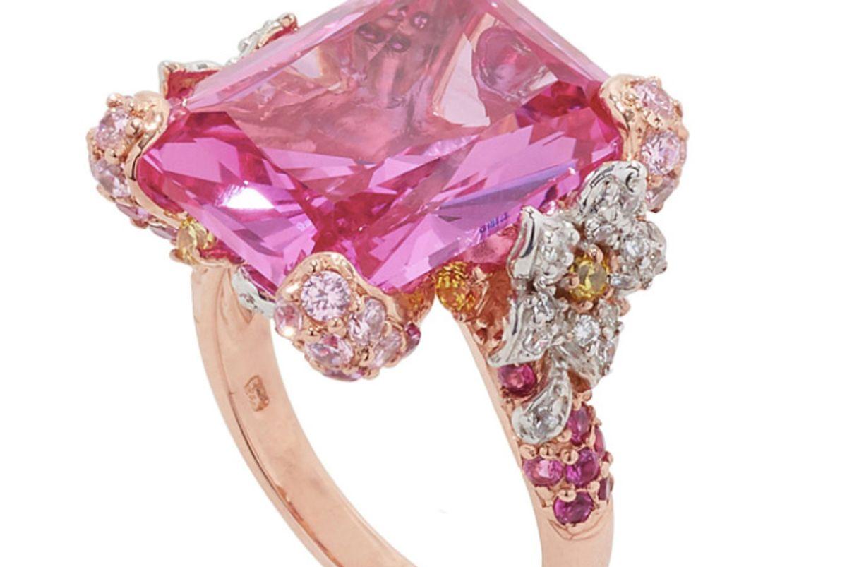 Pale Rose Cinderella Ring