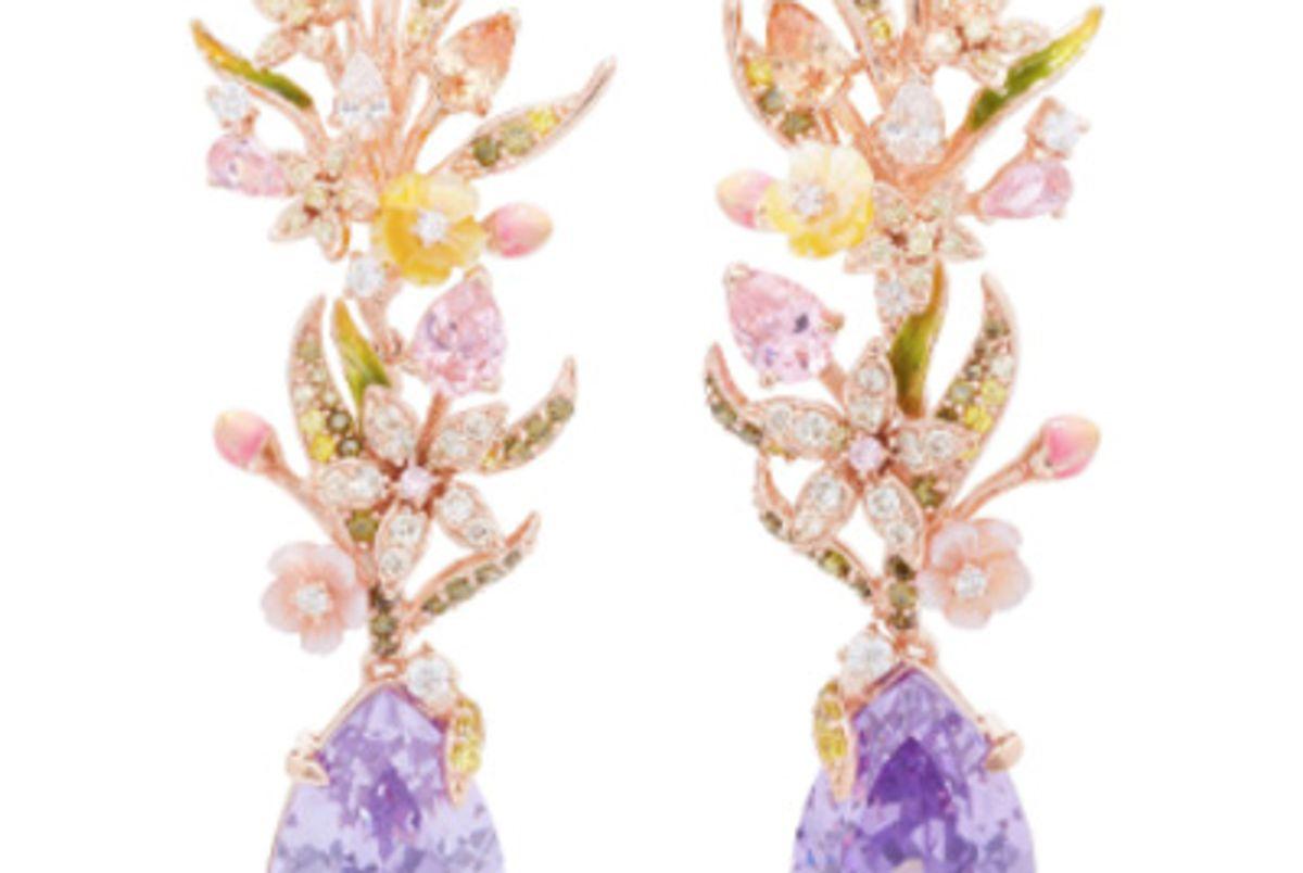 Posie Lilac Earrings