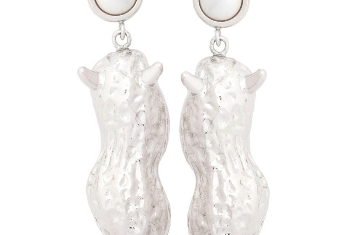 jiwinaia horny peanut earrings
