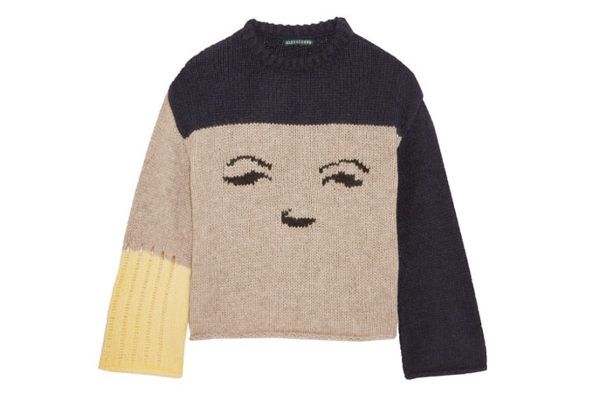 Intarsia Knitted Sweater