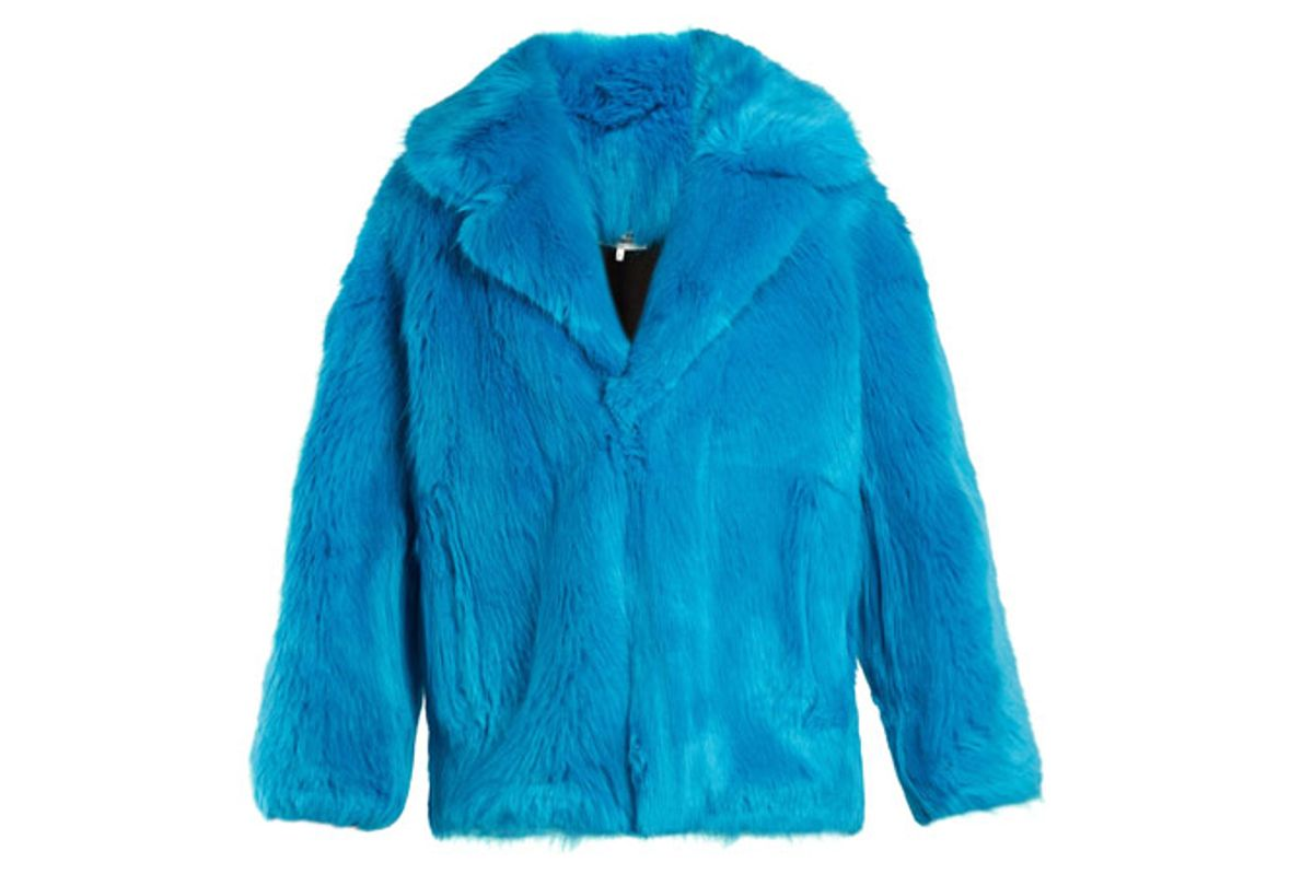 Oversized Faux-Fur Jacket