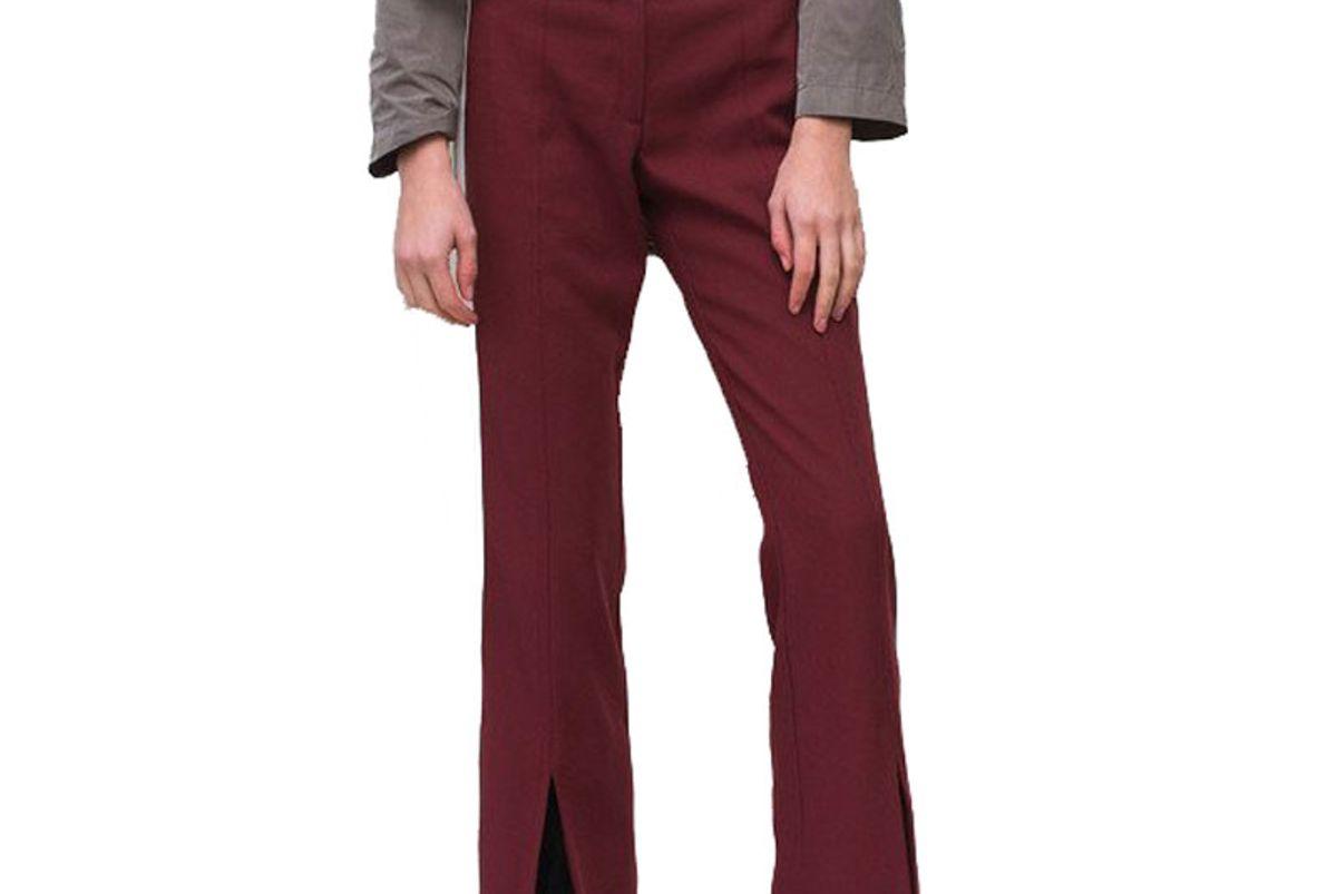 Split Front Pants