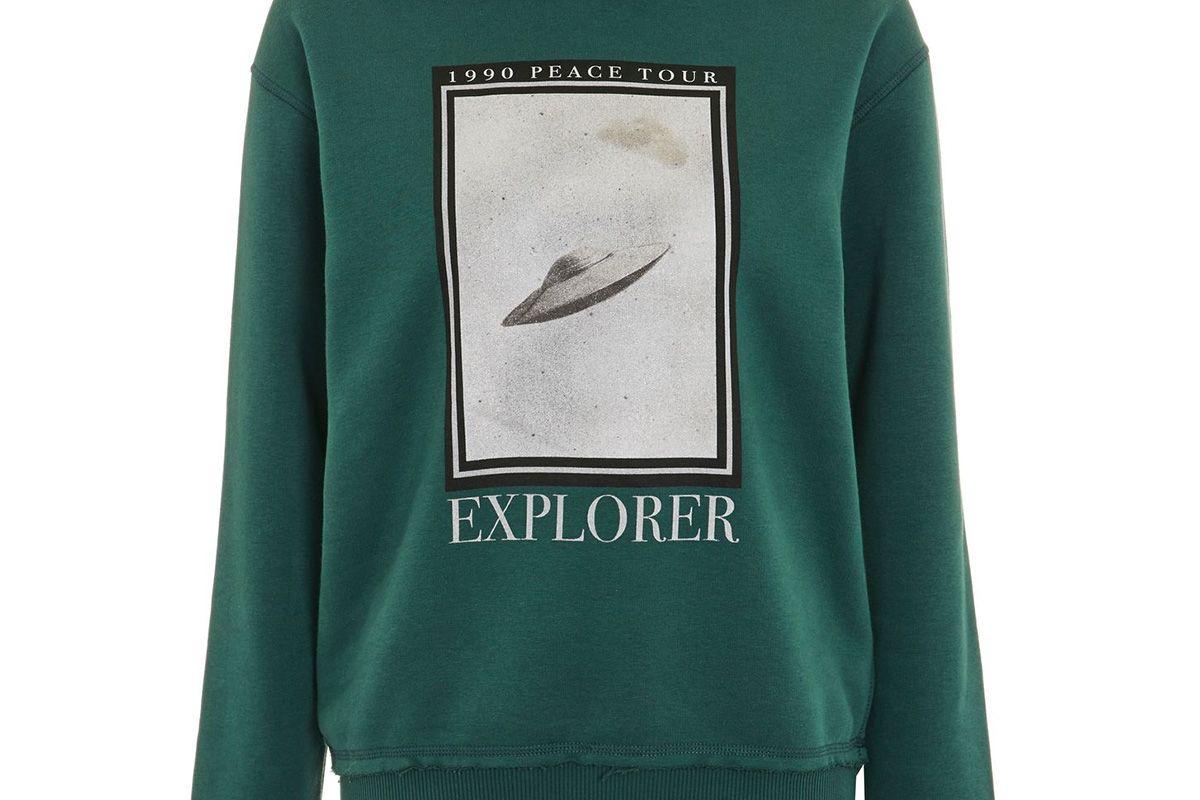'Explorer' UFO Hooded Sweatshirt