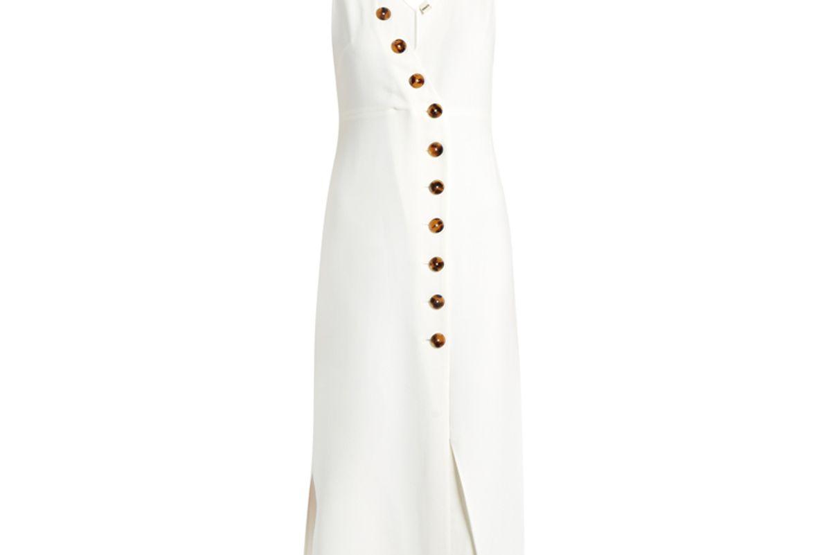 Christy V-Neck Midi Dress