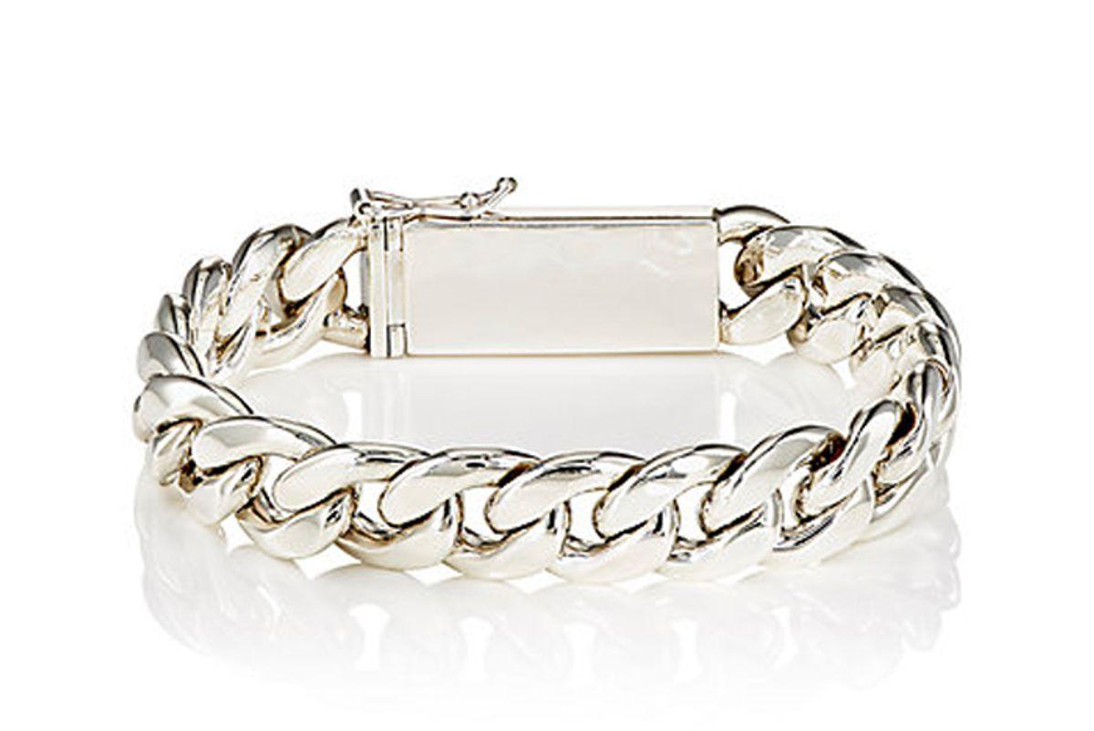 Silver Sterling ID Bracelet