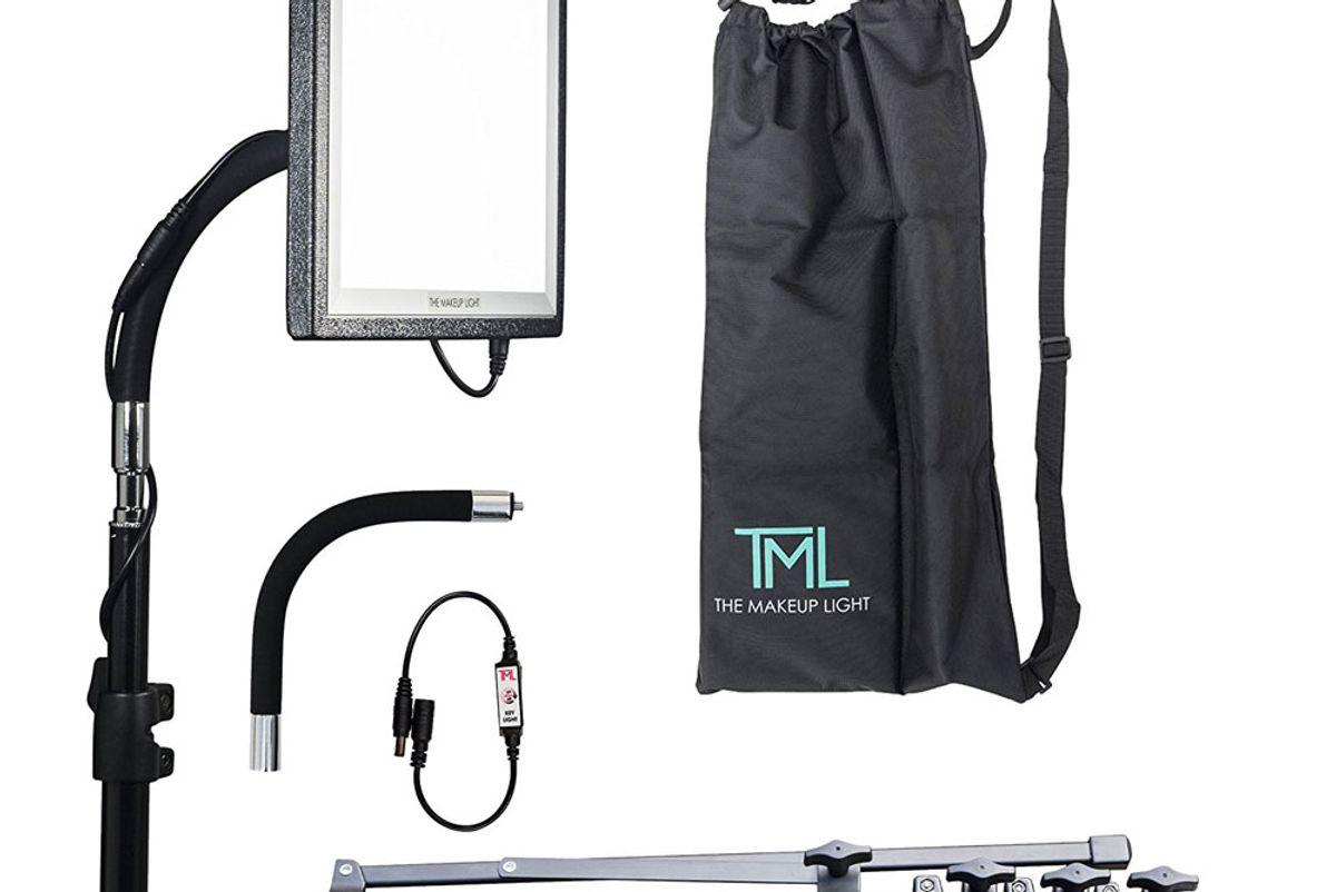 Key Light Starter Package, Onyx/Black with Stand, Adjustable Gooseneck & Shoulder Bag