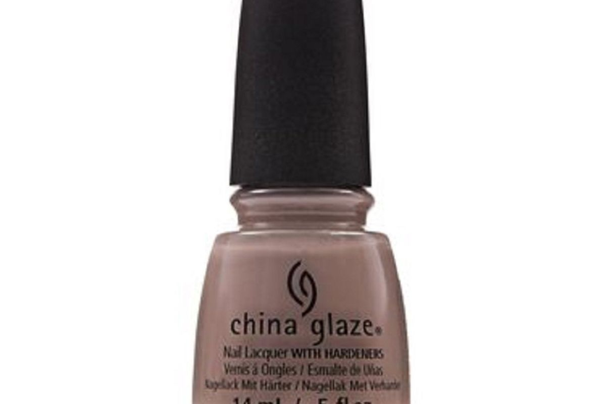 china glaze head to taupe nail lacquer