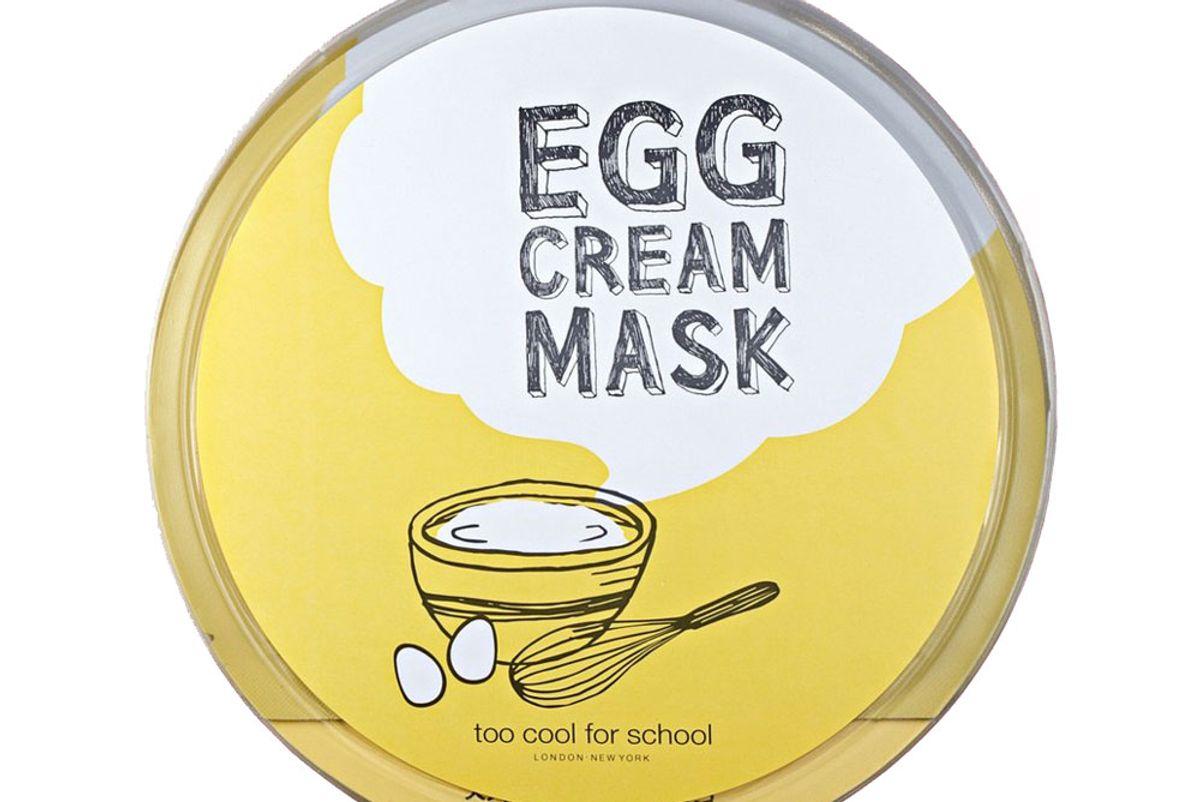 Egg Cream Microfiber Sheet Mask