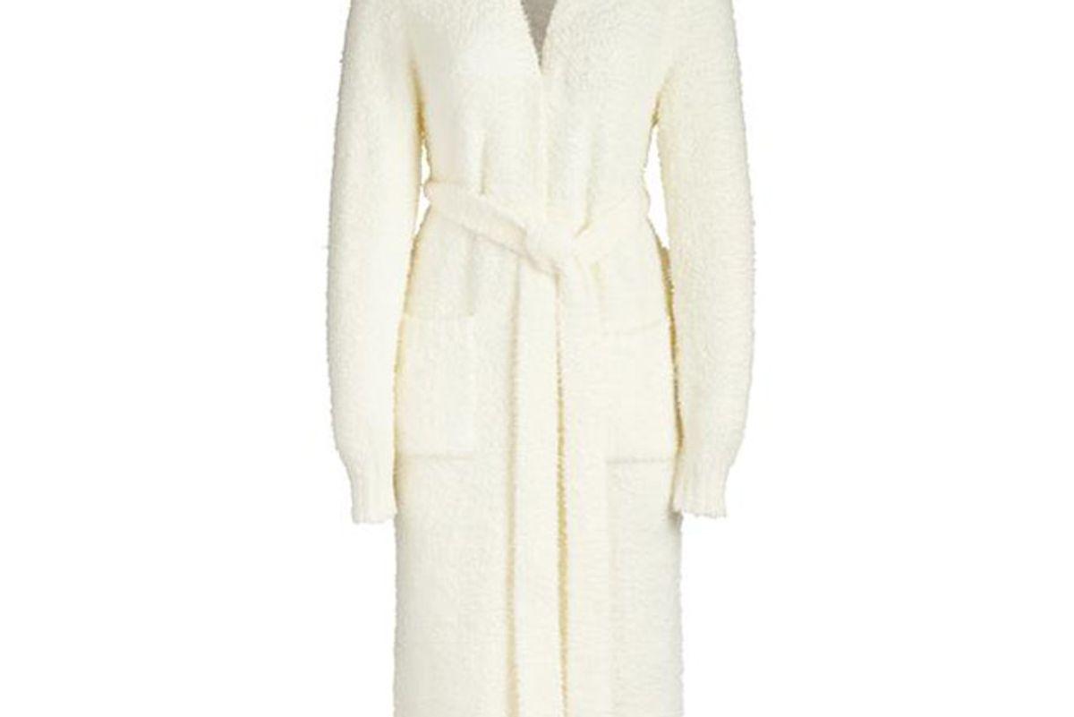 skims cozy knit robe