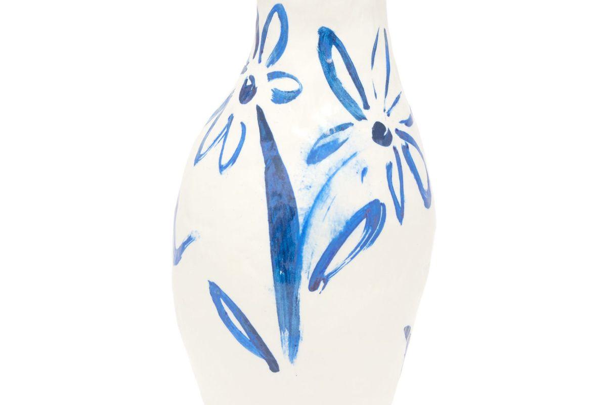 jessica hans floral porcelain vase
