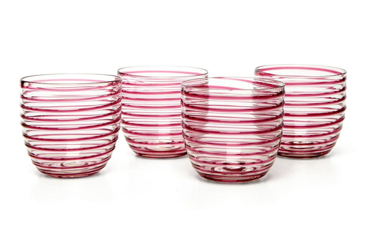 yali glass set of four goto tumblers