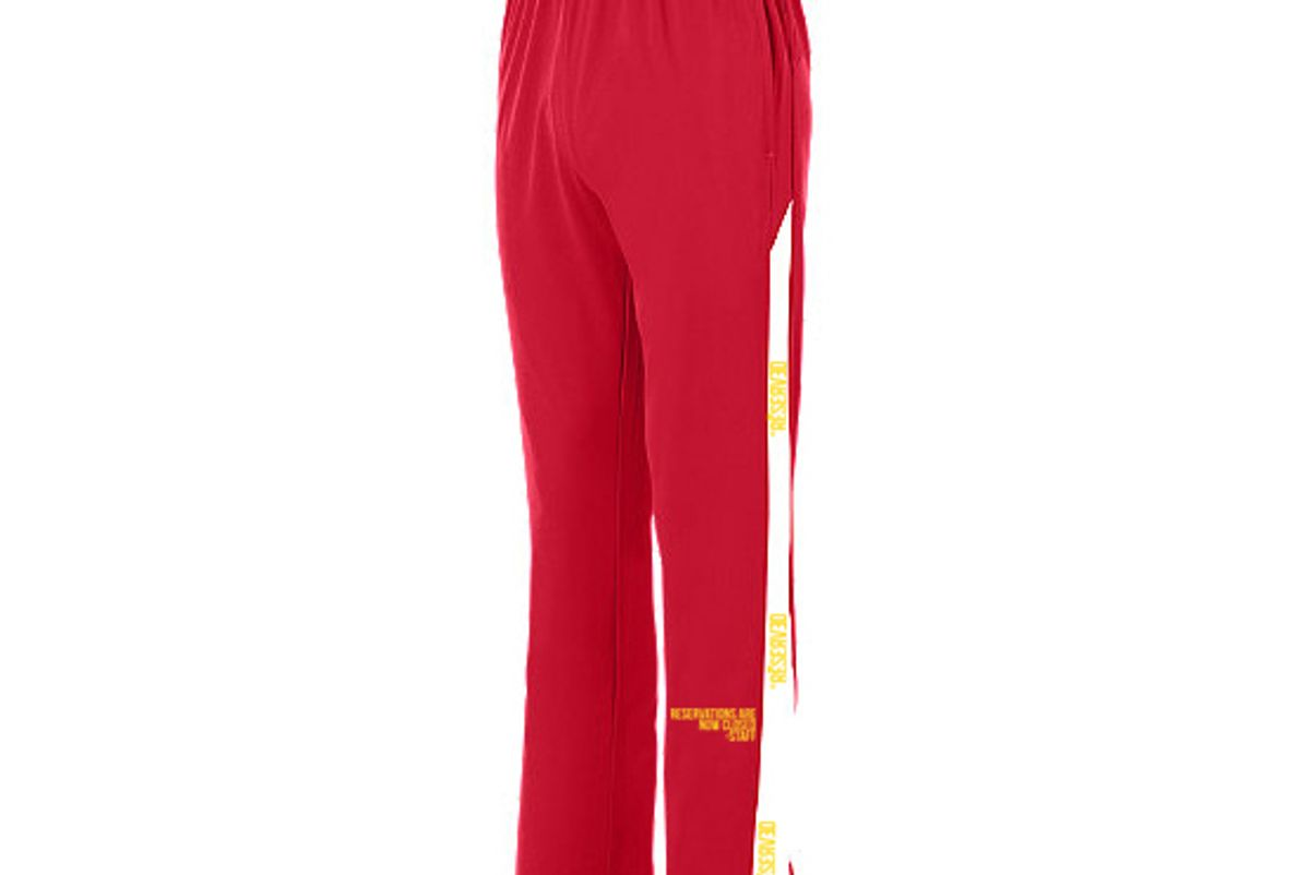 Reservations Staff Red Track Pant