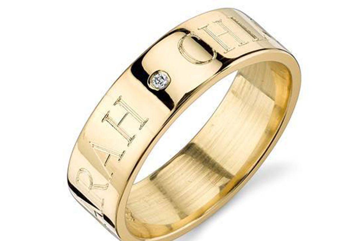 sarahchloe ciela diamond signet ring