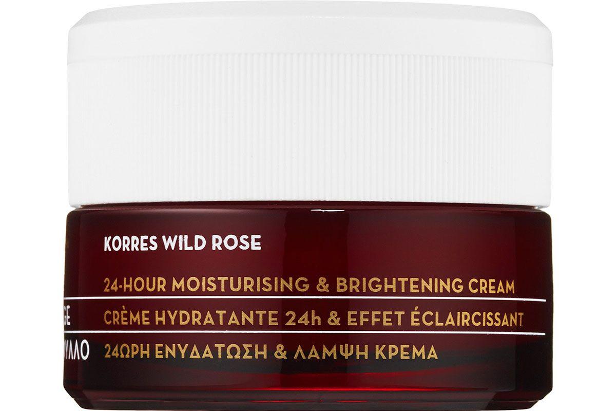 Wild Rose 24-Hour Moisturizing & Brightening Cream