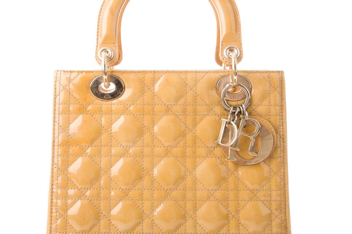 dior medium cannage lady dior bag