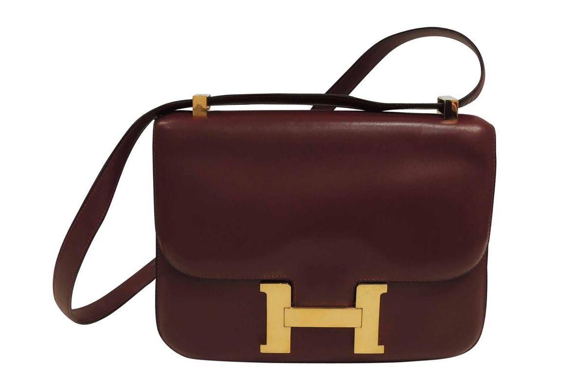 Constance leather handbag
