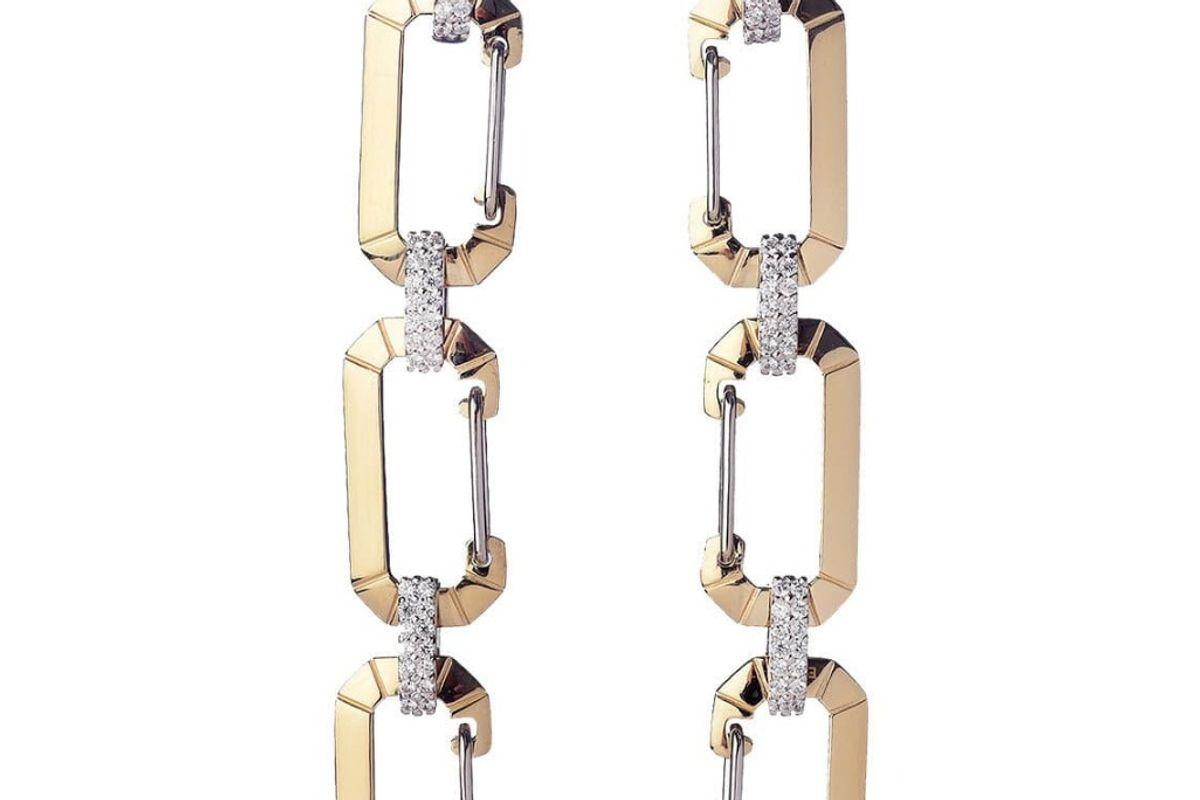 eera chiara triple earrings