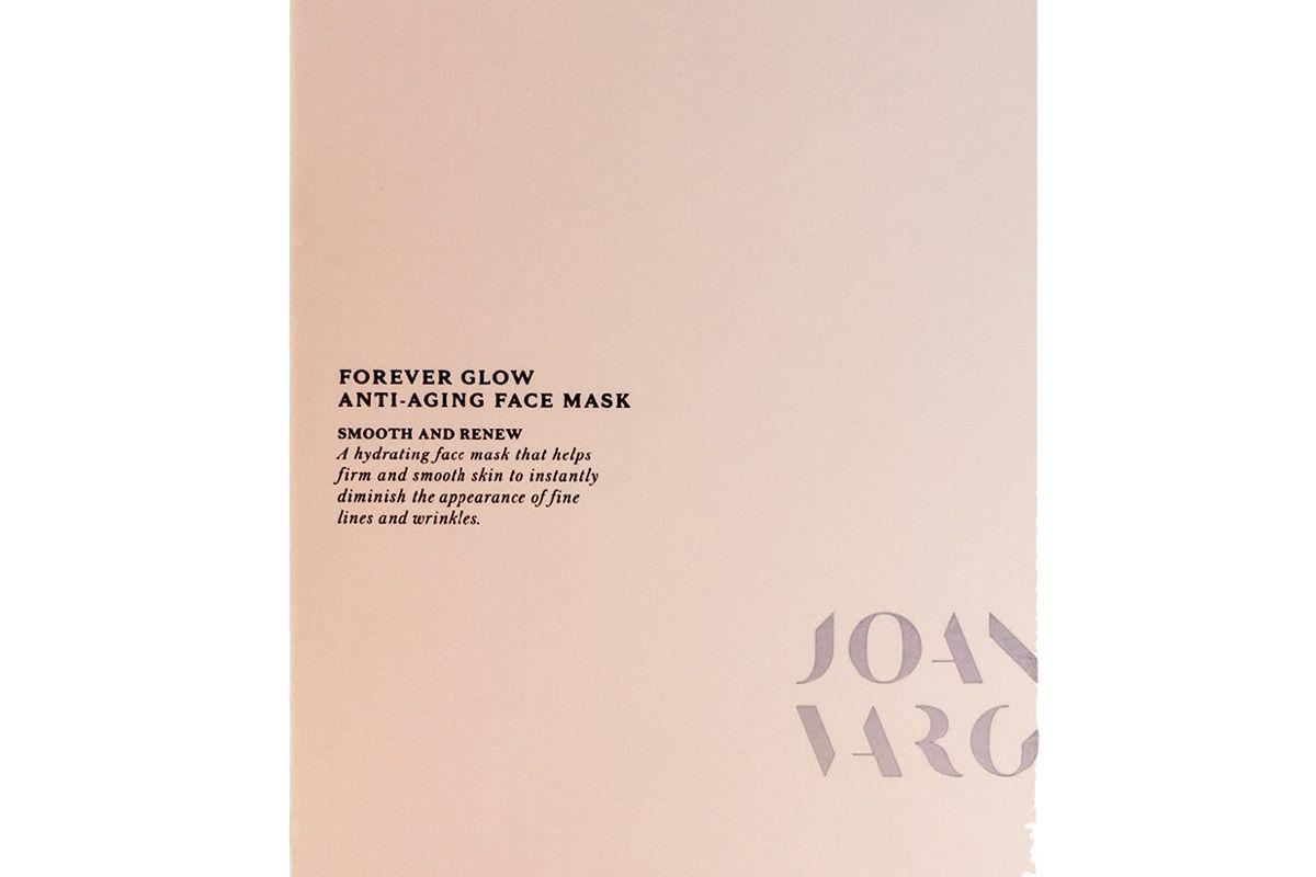 joanna vargas forever glow anti aging sheet mask
