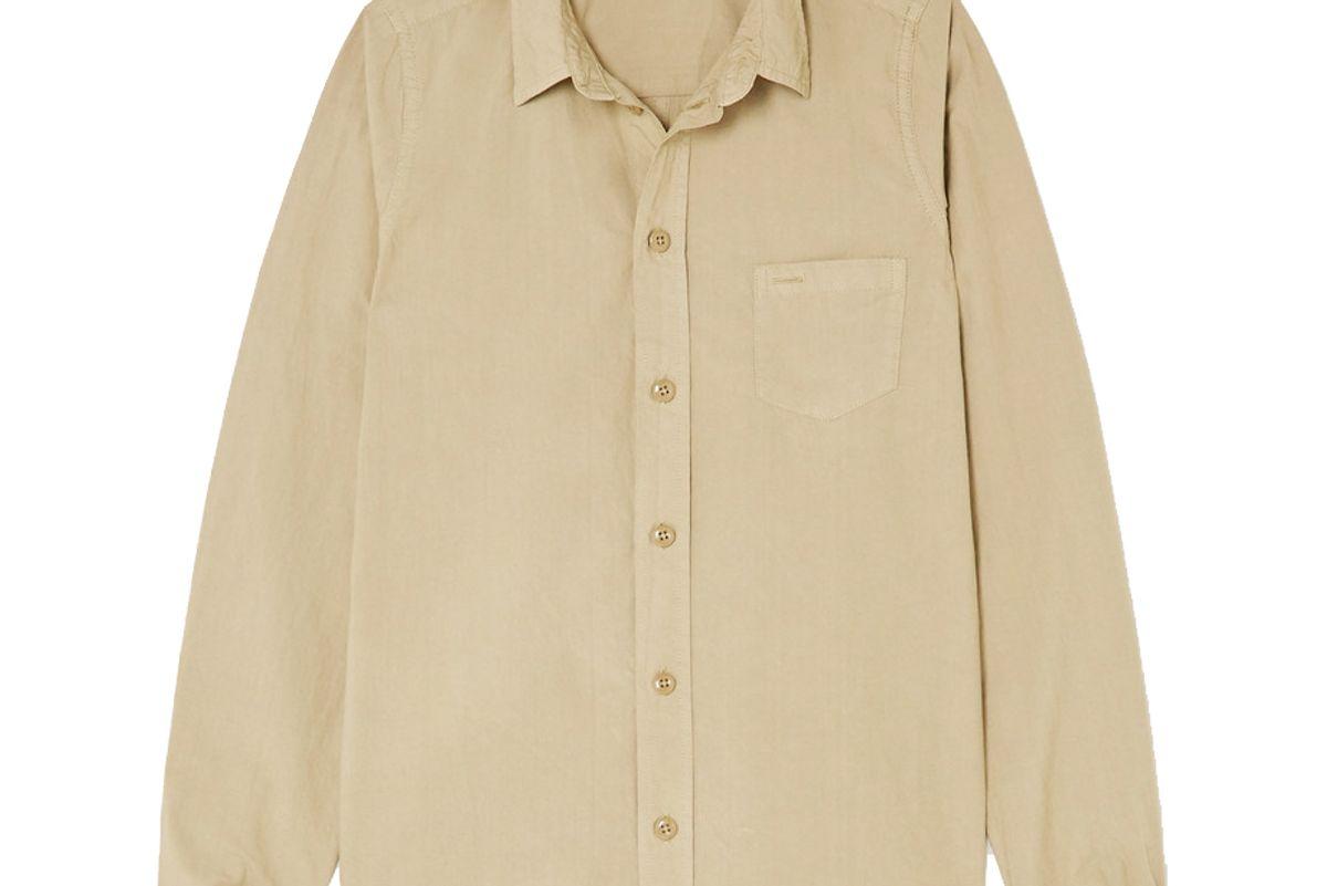 alex mill cotton poplin shirt