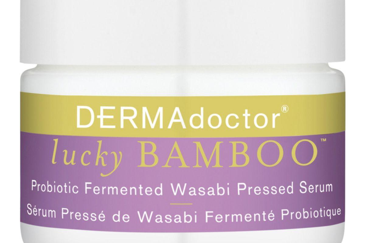 dermadoctor lucky bamboo probiotic fermented wasabi pressed serum