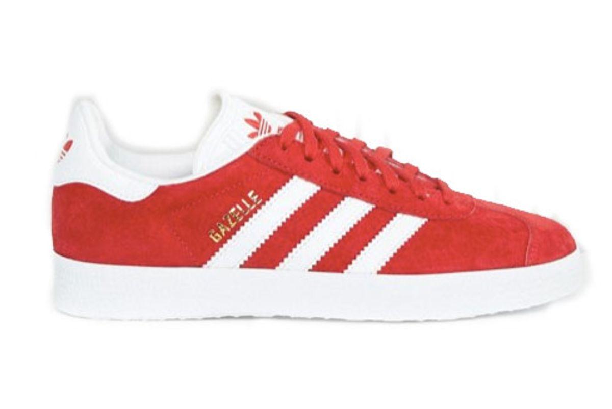 Red Suede Gazelle Unisex Sneakers