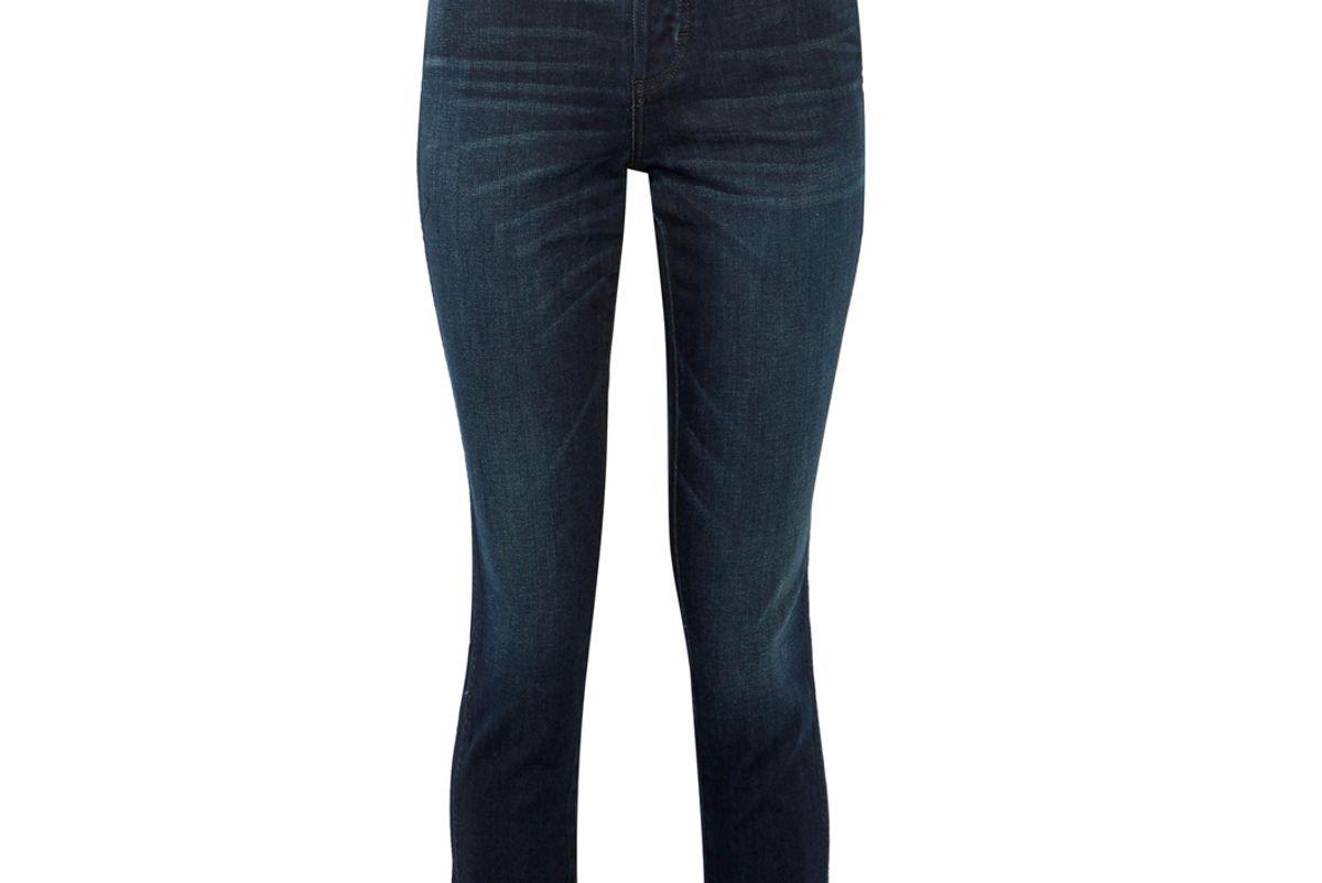 amo babe high rise slim leg jean