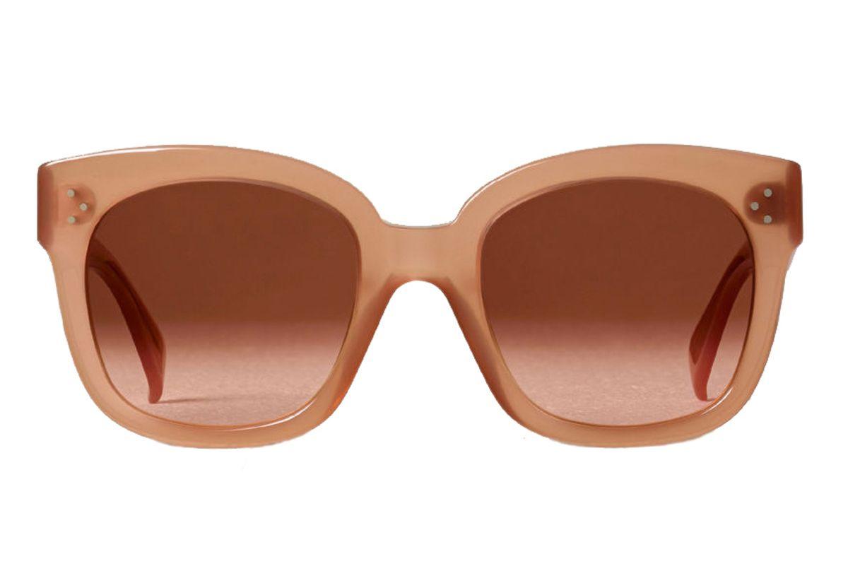 celine oversized sunglasses in acetate