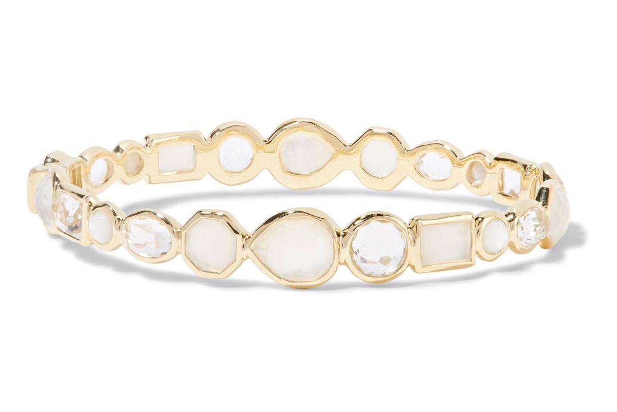 Rock Candy 18-Karat Gold Multi-Stone Bracelet