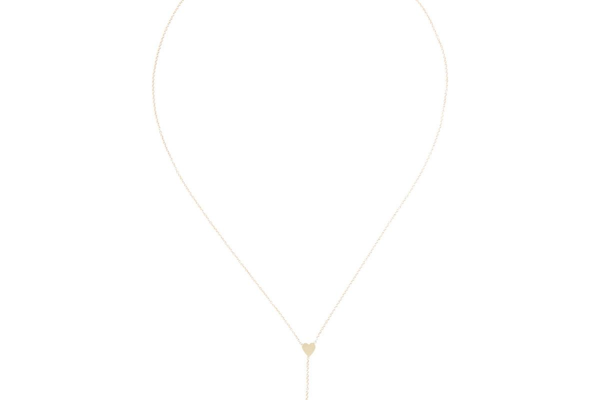 Heart & Arrow 18-Karat Gold Necklace