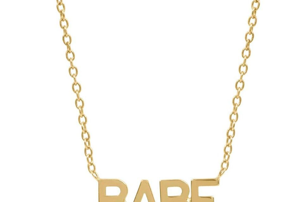 Gold ID Necklace