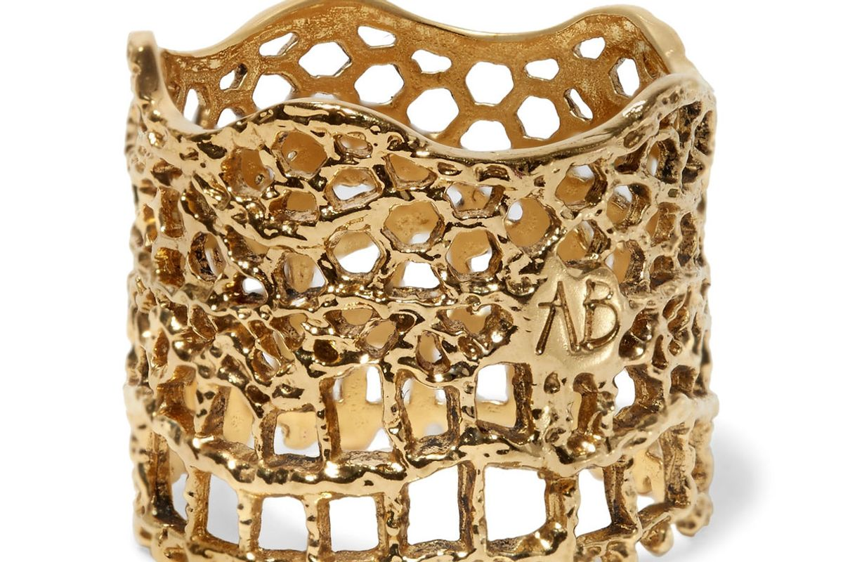 Lace Gold-Plated Ring