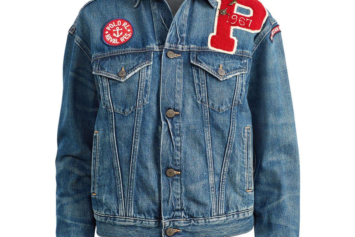Collegiate Trucker Jacket