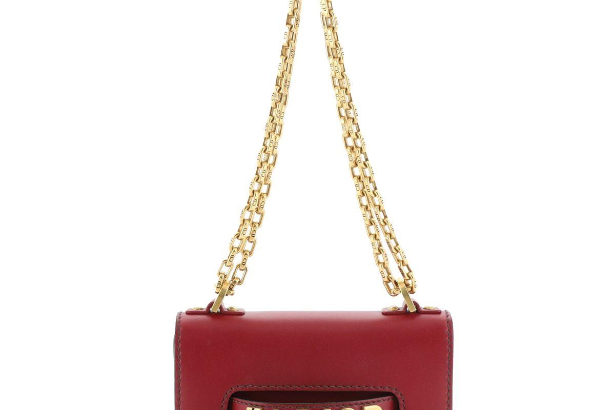 dior j'adior leather mini flap bag