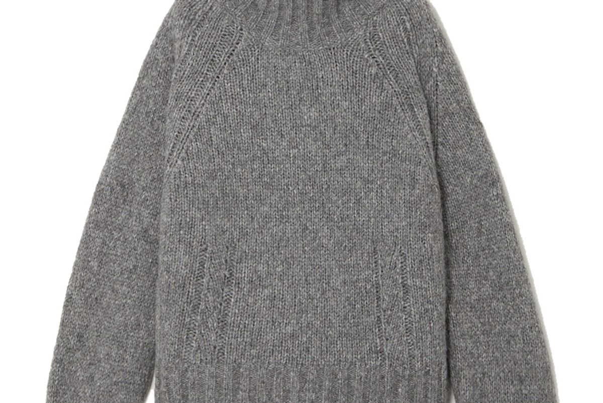 by malene birger net sustain aleya oversized alpaca blend turtleneck sweater
