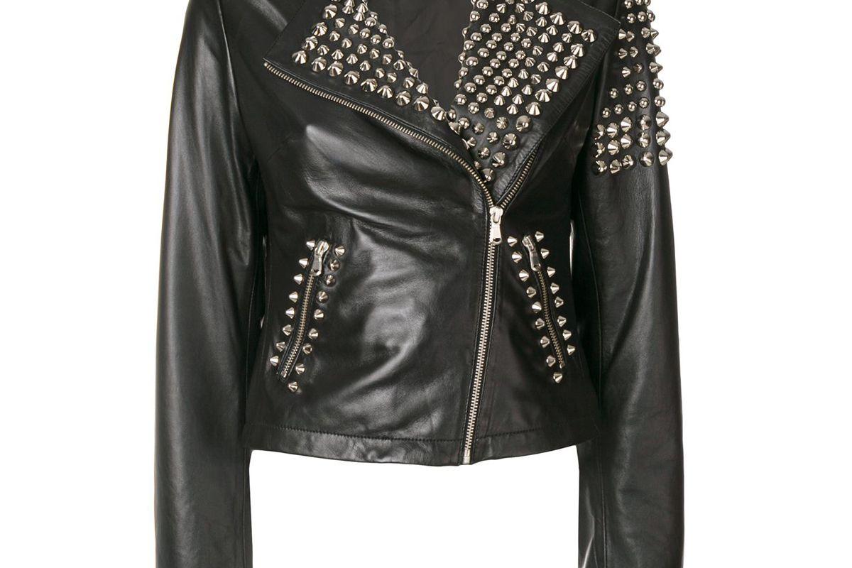 parosh studded biker jacket
