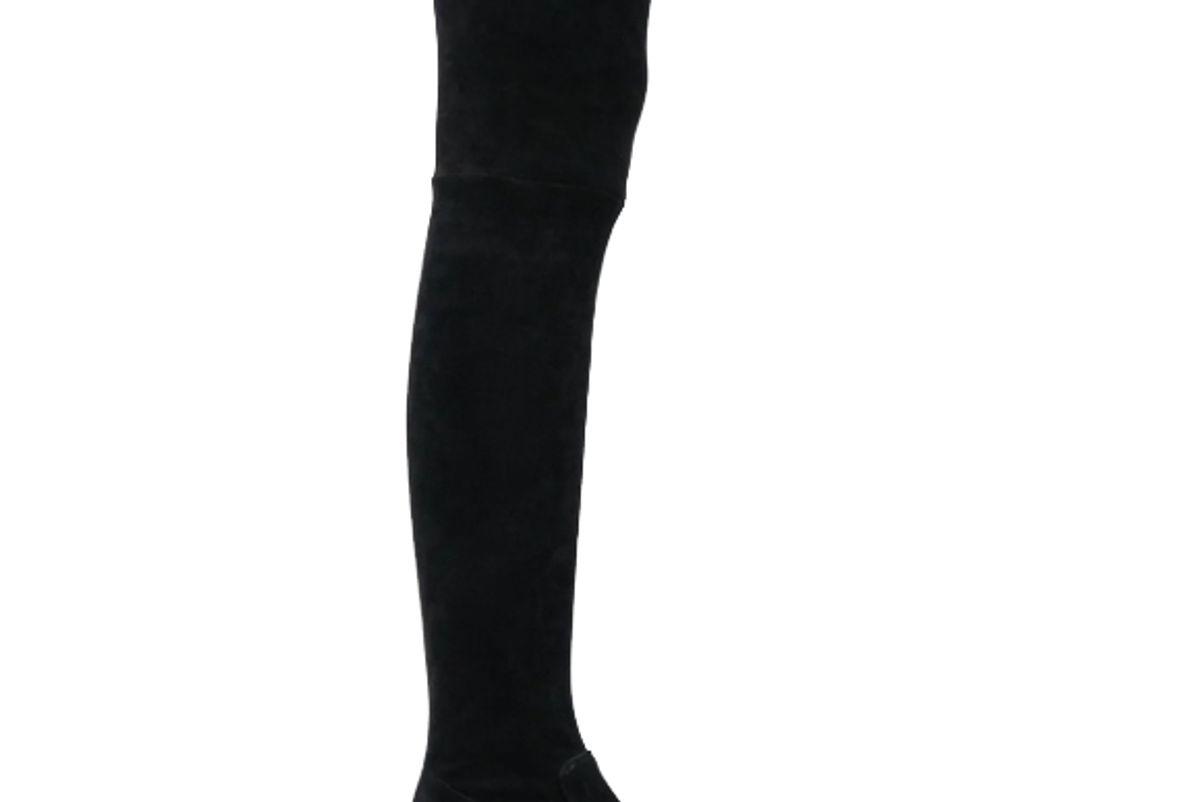 parallele klea4 velvet over the knee boots