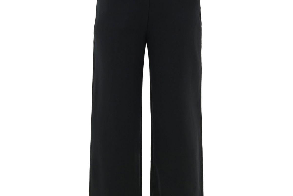 the row subira high rise cropped scuba wide leg trousers