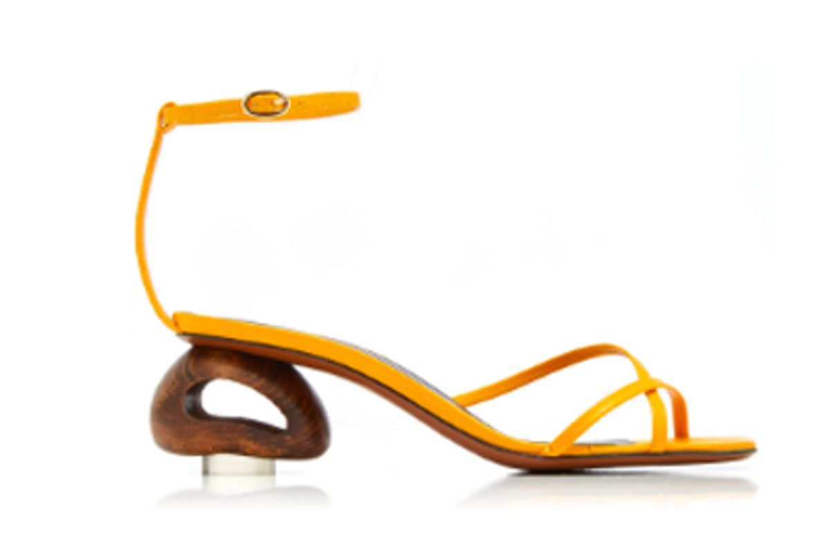 neous phippium leather sandals