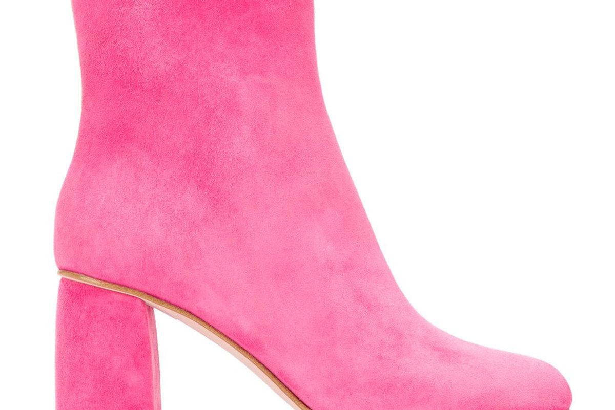 red valentino ankle booties