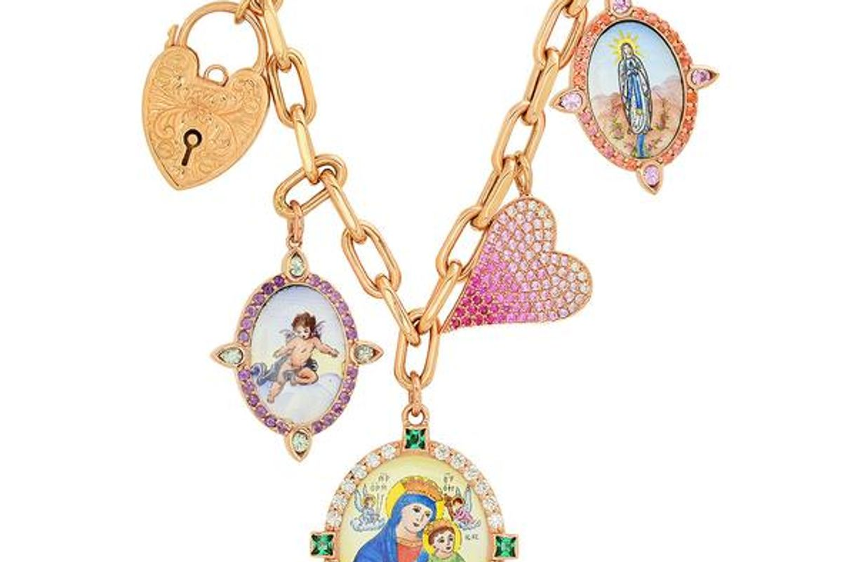 colette love and lock necklace