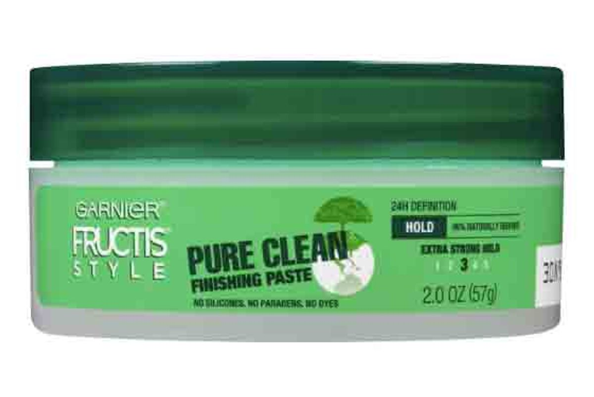 garnier fructis pure clean finishing paste