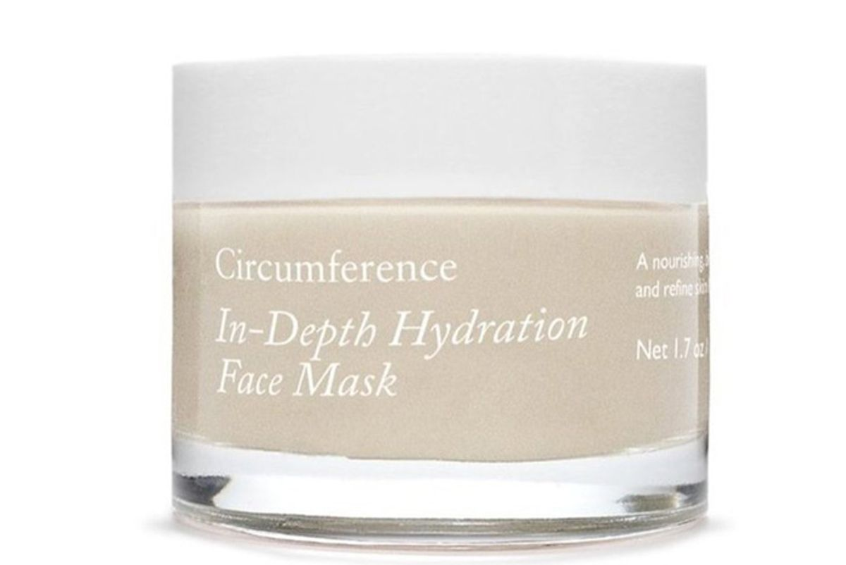 circumference in depth hydration face mask