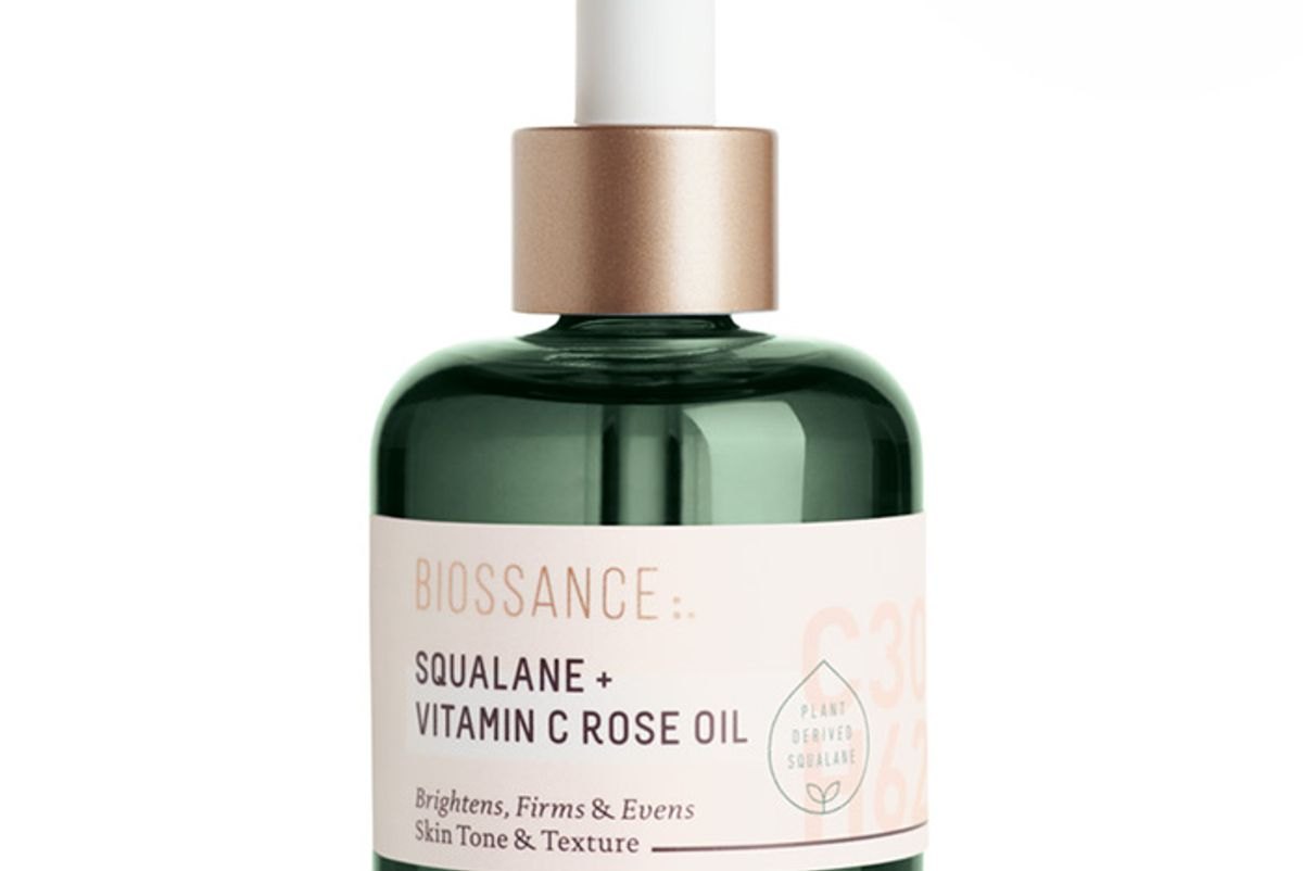 biossance squalane and vitamin c rose oil